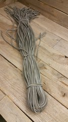 4 ft shoe lace 1/8 wide gray