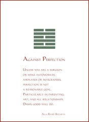 Against Perfection - Full-page Art Piece