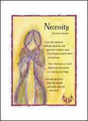 Necessity - Soul Card