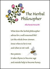The Herbal Philosopher Soul Card