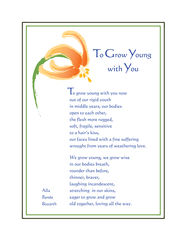 To Grow  Young with You - Full-page Artwork