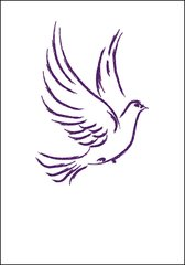 Dove of Peace Note Card
