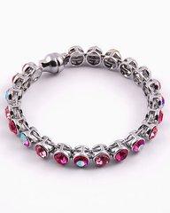 Rosey Pink Rhinestone Bracelet