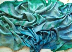 Half Circle Silk Belly Dance Veil 8mm