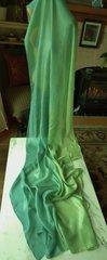 Silk Bellydance Veil Ombre Silk Veil 5mm Petite Size