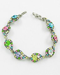 Pastel Rhinestone Bracelet