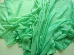 Silk Belly Dace Veil Pastel Green Dance Veil
