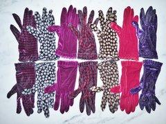 Stretch Velvet Gloves