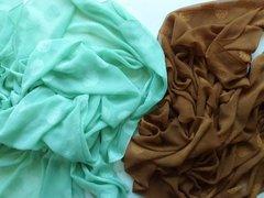Large Silk Blend Scarf