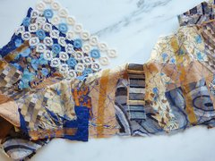 Art Scarf Fabric Art Silk Scarf
