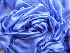 Silk Belly Dance Veil 4 Yard Periwinkle Blue