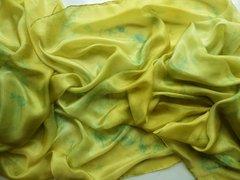 Silk Bellydance Veil 3 yard Petite Size Silk Veil Light Green Silk Veil