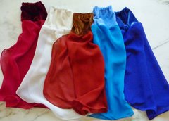 Velvet and Chiffon Belly Dance Sleeves