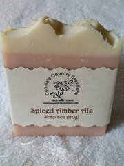 Spiced Amber Ale Soap