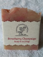 Strawberry Champagne Soap