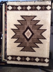Aztec shag 5x8 machine-made rug.sold out
