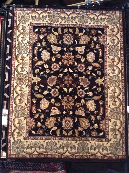 Antique Color Variation Persian all over pattern 8x11 machine-made rug