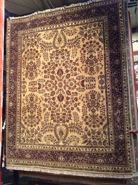 sarogh persian design hand made 8x10