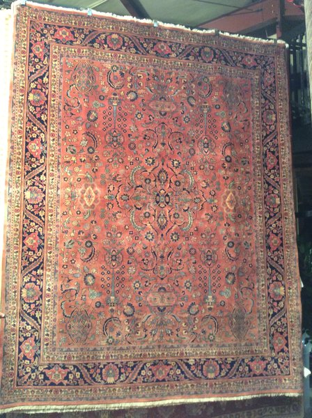 antique sarogh design high quality persian design hand made 8x10