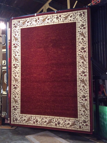 Border rug 8x11 machine made.sold out