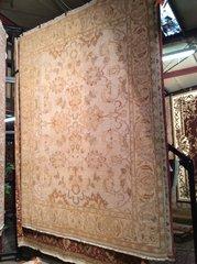 persian design,tea wash hand made 8x10