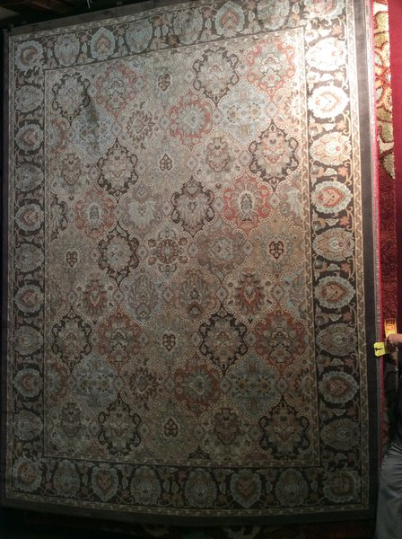 Kerman All Over Pattern Machinemade 8x11 Rug
