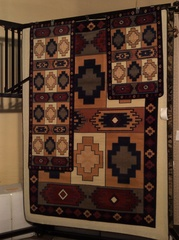 3-piece set navy blue machine made rugs.sold out