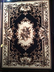 8x11 black french aubusson