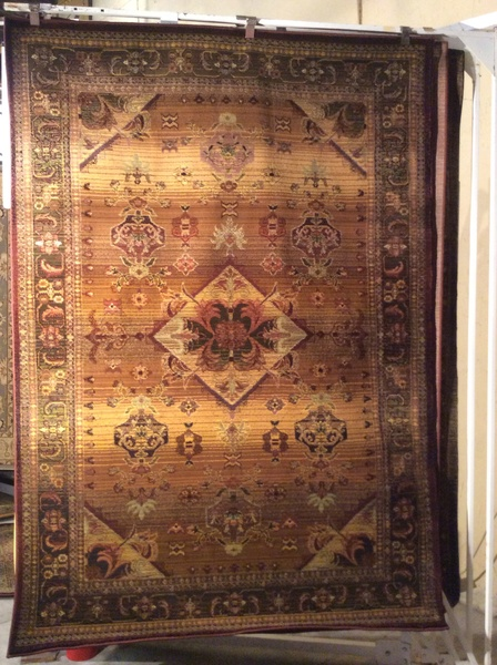 Bronze tea wash 5x8 machine made rug.sold out