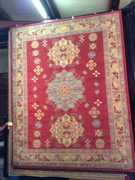 8x11 Muted Persian Heriz design machinemade rug