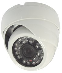 TVI,360° Ceiling Mount IR Dome Camera 1.3 Mega Pixels 720P