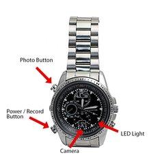 TTDSilver: Silver Band Hidden Camera Watch