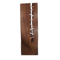 """24"""" Walnut Charcuterie Board with Copper Keys"""