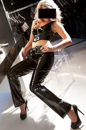 Low Rise Boot Cut Leather Pants (Item#:a-16-l-300-al)