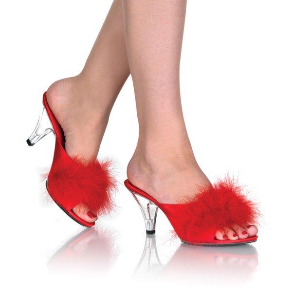 Kiss Me Sandals w/ Fur (Item#:p-kissme-2p01f)