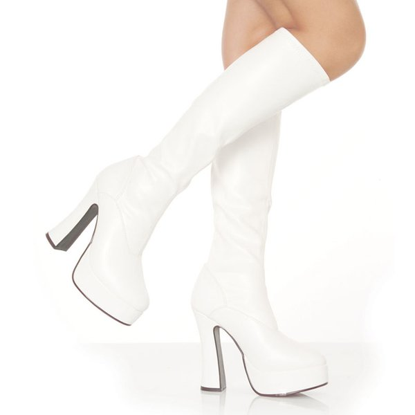 Knee High Stretch Boots (Item#:p-electra-2000)
