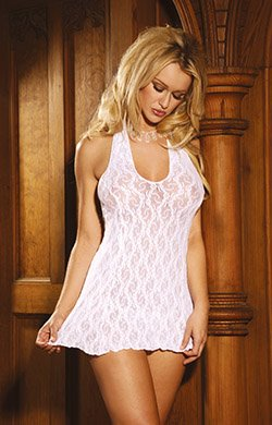 Lace Mini Dress (Item#:em-1422)