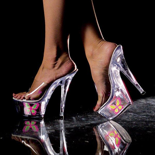 """Butterfly 6"""" Heels (Item#:p-butterfly-601)"""