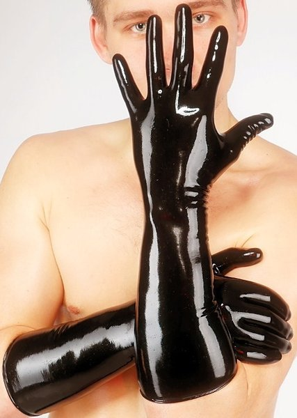 Latex Elbow Gloves (Item#:15ww20)