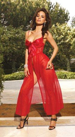 Elegant Long Gown (Item#:18em44X)