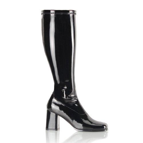 Wide Heel Boots (Item#:p-go-3p00wc)