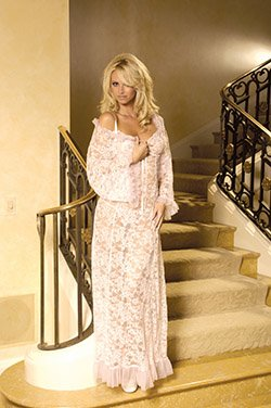 Lace Gown w/Ruffles (Item#:em-1223)