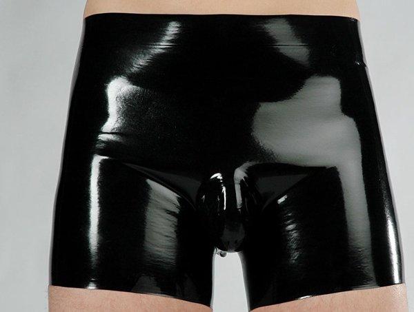 Latex Short w/ Pouch (Item#:52ww30)