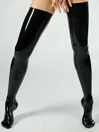Latex Stockings (Item:#16ww80)