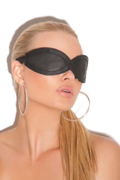 Leather Blindfold (Item#:L9-em-987)