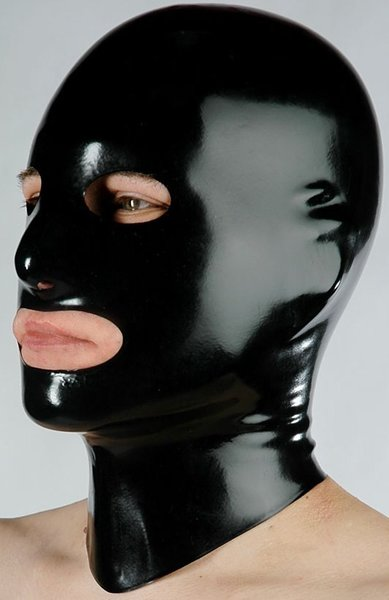 Latex Mask Open (Item#:11ww40)