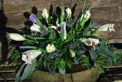3ft Funeral Spray -Mixed Flowers with FREE delivery in Sheffield