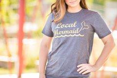 Women's Local Mermaid grey/gold