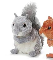"""Grey Squirrel (7"""")"""