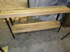 Reclaimed Beam Console Table